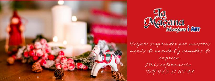 Menús empresa y Navidad